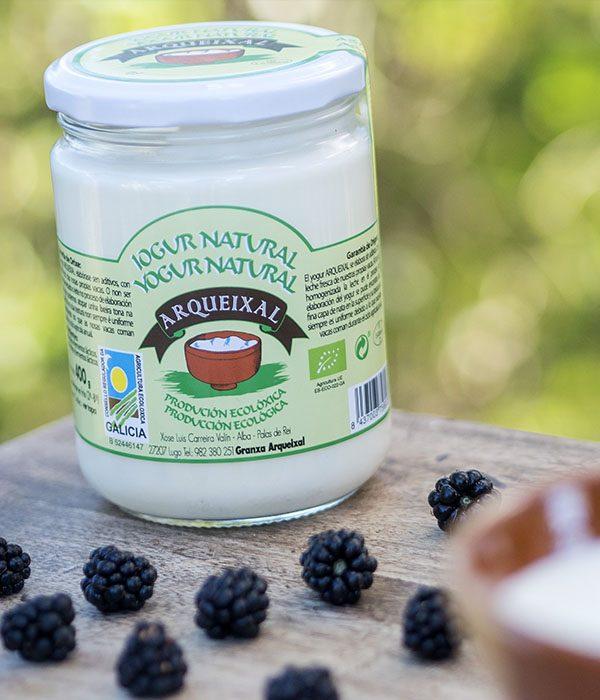 Yogur natural ecológico Arqueixal
